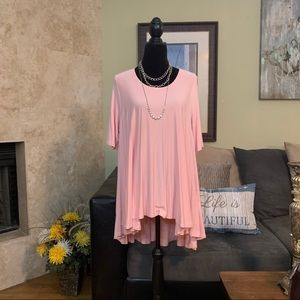 ALTAR'D STATE | NWOT Pink Swing Tunic | L